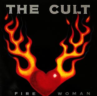 "Cult (The)‎ - Fire Woman (7"") (G-VG/G-VG)"